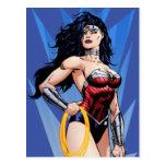 Wonder Woman & Sword Postcard