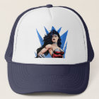Wonder Woman & Sword Trucker Hat