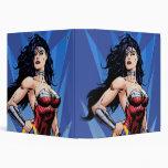 Wonder Woman & Sword Vinyl Binders