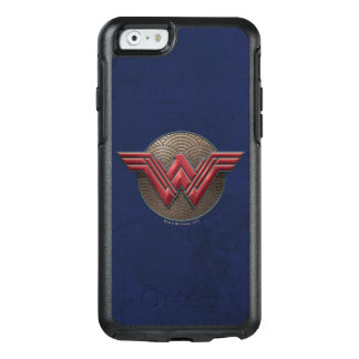 Wonder Woman Symbol Over Concentric Circles OtterBox iPhone 6/6s Case