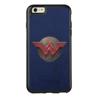 Wonder Woman Symbol Over Concentric Circles OtterBox iPhone 6/6s Plus Case