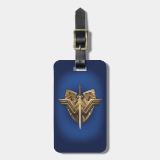 Wonder Woman Symbol With Sword of Justice Bag Tag