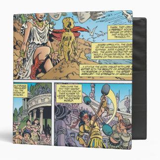 Wonder Woman Themyscira Vinyl Binders