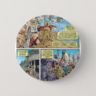 Wonder Woman Themyscira Button