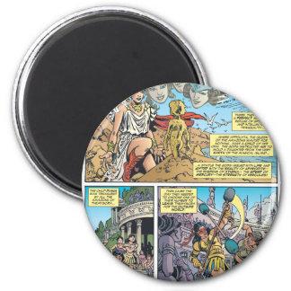 Wonder Woman Themyscira Fridge Magnets