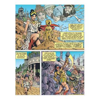 Wonder Woman Themyscira Postcards
