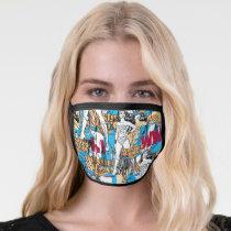 Wonder Woman Toss Pattern Face Mask