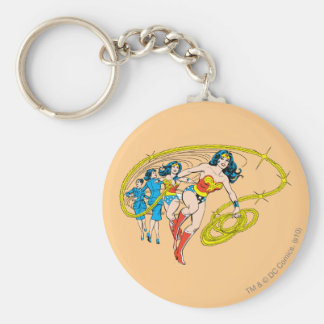 Wonder Woman Transform Keychain