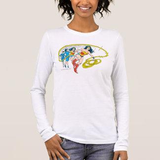 Wonder Woman Transform Long Sleeve T-Shirt
