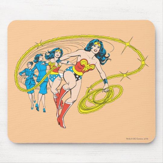 Wonder Woman Transform Mouse Pad