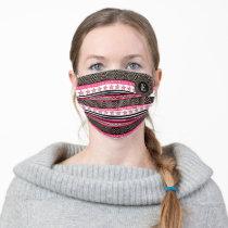 Wonder Woman Tribal Pattern 2 Adult Cloth Face Mask
