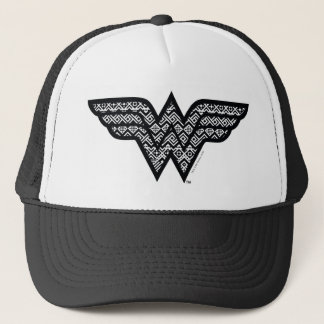 Wonder Woman Tribal Pattern Trucker Hat