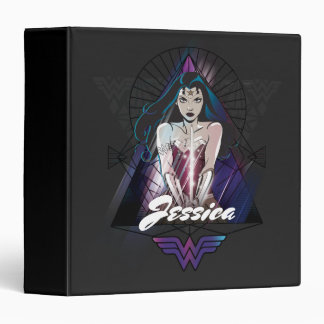 Wonder Woman Tribal Triangle Binder