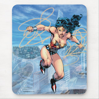 Wonder Woman Trinity Comic Cover #16 Mouse Pad