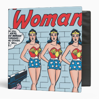 Wonder Woman Triple Identity Binder