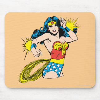 Wonder Woman Twist with Glowing Cuffs Mouse Pad