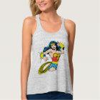 Wonder Woman Twist with Glowing Cuffs Tank Top