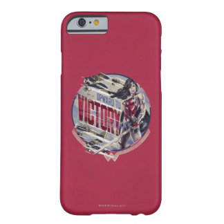 Wonder Woman Upward To Victory Barely There iPhone 6 Case