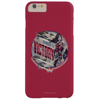 Wonder Woman Upward To Victory Barely There iPhone 6 Plus Case