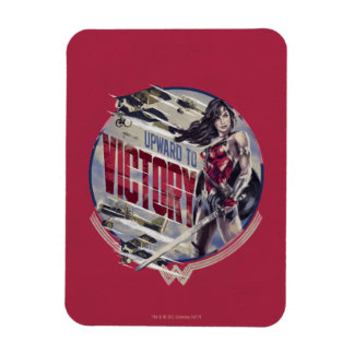 Wonder Woman Upward To Victory Magnet