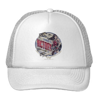 Wonder Woman Upward To Victory Trucker Hat