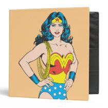 Wonder Woman | Vintage Pose with Lasso Binder