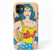Wonder Woman | Vintage Pose with Lasso iPhone 11 Case