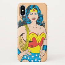 Wonder Woman | Vintage Pose with Lasso iPhone X Case