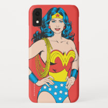 Wonder Woman | Vintage Pose with Lasso iPhone XR Case