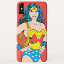 Wonder Woman | Vintage Pose with Lasso iPhone XS Max Case