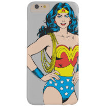 Wonder Woman | Vintage Pose with Lasso Barely There iPhone 6 Plus Case