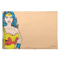 Wonder Woman | Vintage Pose with Lasso Cloth Placemat