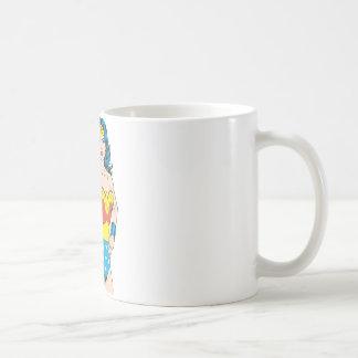 Wonder Woman | Vintage Pose with Lasso Coffee Mug