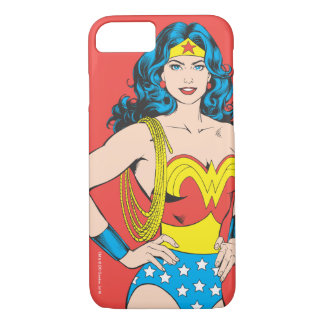 Wonder Woman | Vintage Pose with Lasso iPhone 7 Case