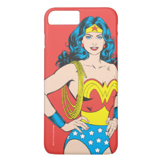 Wonder Woman | Vintage Pose with Lasso iPhone 7 Plus Case