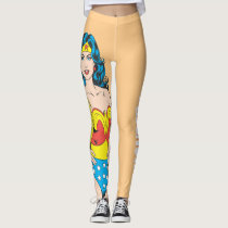 Wonder Woman | Vintage Pose with Lasso Leggings
