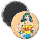 Wonder Woman | Vintage Pose with Lasso Magnet