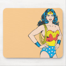 Wonder Woman | Vintage Pose with Lasso Mouse Pad