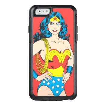 Wonder Woman | Vintage Pose With Lasso Otterbox Iphone 6/6s Case by wonderwoman at Zazzle