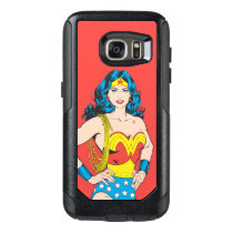 Wonder Woman | Vintage Pose with Lasso OtterBox Samsung Galaxy S7 Case
