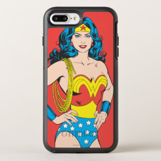 Wonder Woman | Vintage Pose with Lasso OtterBox Symmetry iPhone 7 Plus Case