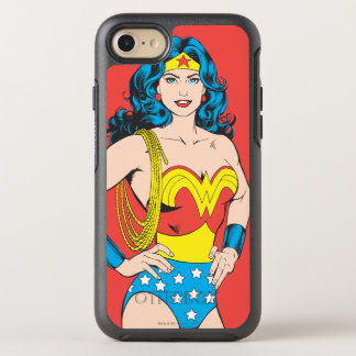 Wonder Woman | Vintage Pose with Lasso OtterBox Symmetry iPhone 8/7 Case