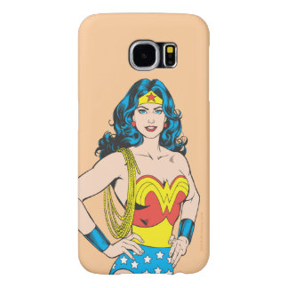Wonder Woman | Vintage Pose with Lasso Samsung Galaxy S6 Case