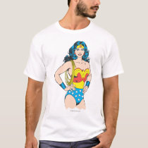 Wonder Woman | Vintage Pose with Lasso T-Shirt