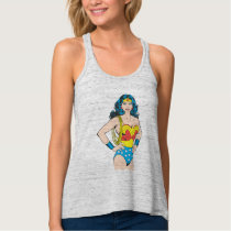Wonder Woman | Vintage Pose with Lasso Tank Top