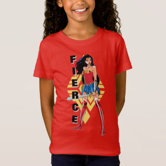 Wonder Woman With Sword - Fierce T-Shirt