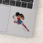 Wonder Woman With Sword - Join The Fight Sticker