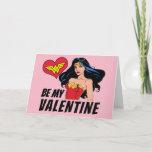 Wonder Woman | You're Wonderful Valentine Holiday Card