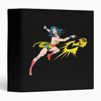 Wonder WomanThrows Crown 3 Ring Binders