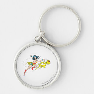 Wonder WomanThrows Crown Key Chain